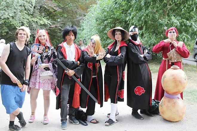 Manga- und Anime-Cosplay beim Japanfest München