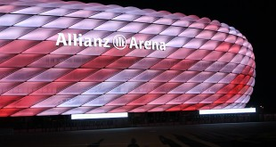 Allianz Arena neue LED Beleuchtung