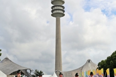 Almauftrieb auf den Olympiaberg/Olympiapark 2016