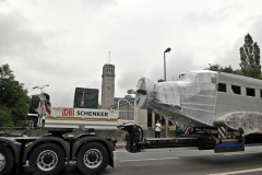 Ju 52 Abtransport Corneliusbruecke