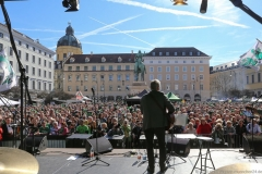 After Parade Party St. Patricks Day am Wittelsbacher Platz in München 2019
