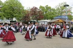 Isargau Trachtenverein, Auer Dult am Mariahilfplatz in München 2019