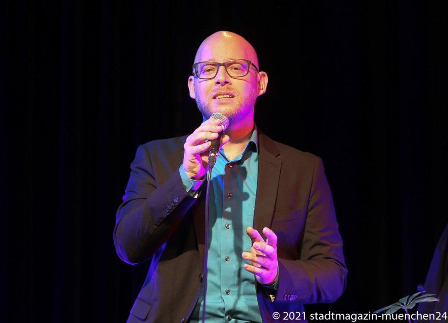 Christian Deussen, Back on Stage - zurück auf die Bühne ! Christian Deussen und Linda Jo Rizzo auf der Kulturbühne Hinterhalt in Geretsried 2021
