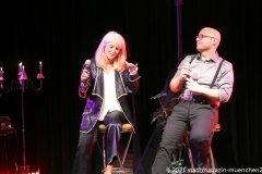 Linda Jo Rizzo und Christian Deussen, Back on Stage - zurück auf die Bühne ! Christian Deussen und Linda Jo Rizzo auf der Kulturbühne Hinterhalt in Geretsried 2021