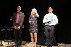 Steffen Zander, Linda Jo Rizzo, Christian Deussen (von li. nach re.), Back on Stage - zurück auf die Bühne ! Christian Deussen und Linda Jo Rizzo auf der Kulturbühne Hinterhalt in Geretsried 2021
