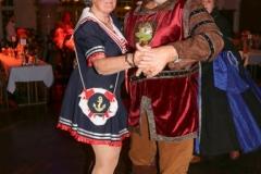 Christa und Karl-Heinz Knoll, Ball der Damischen Ritter im Löwenbräukeller in München 2019