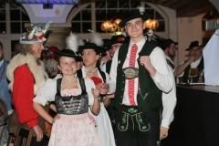 Trachtengruppe Isargau, Ball der Damischen Ritter im Löwenbräukeller in München 2019