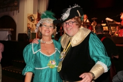 Hans-Peter Stadler mit Frau, Ball der Damischen Ritter im Löwenbräukeller in München 2019