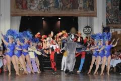 Auftritt Narrhalla am Ball der Damischen Ritter im Löwenbräukeller in München 2019