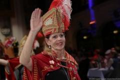 Elisabeth Hammelsbeck, Auftritt Narrhalla am Ball der Damischen Ritter im Löwenbräukeller in München 2019