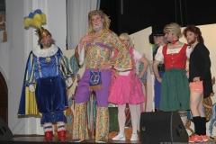 Ritterspiel am Ball der Damischen Ritter im Löwenbräukeller in München 2019