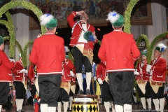 Schäfflertanz am Ball der Damischen Ritter im Löwenbräukeller in München 2019