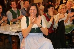 Ilse Aigner, Aufzeichnung der BR Brettlspitzen IX im Hofbräuhaus in München 2018