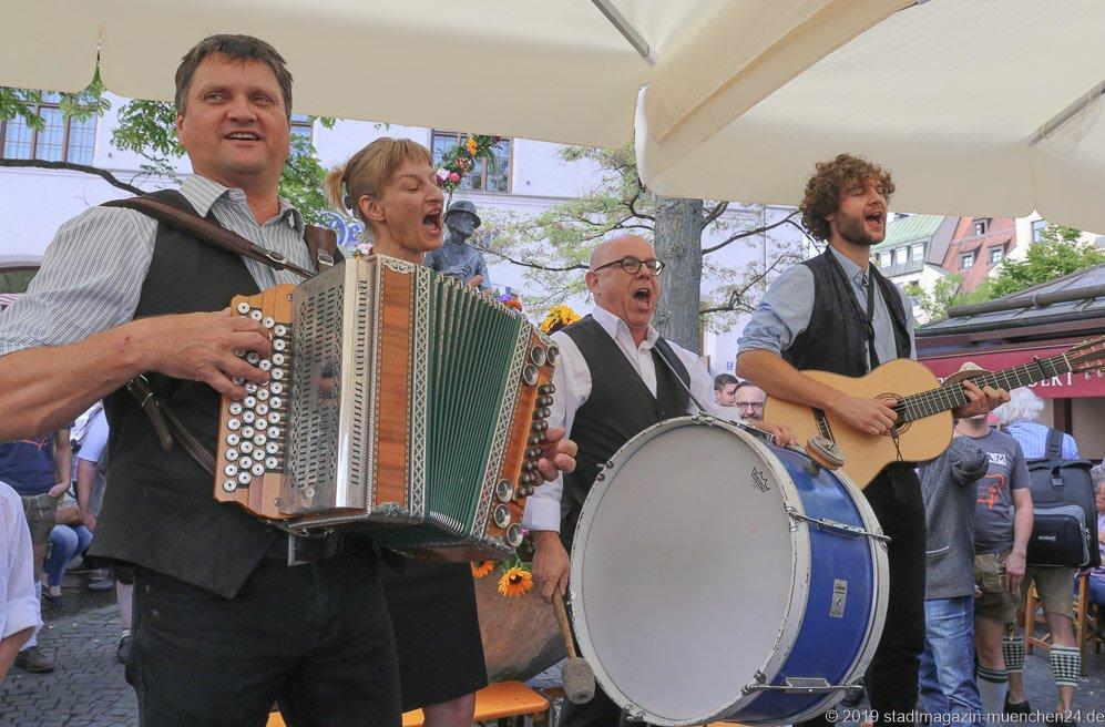 Couplet AG,  Brunnenfest  am Viktualienmarkt in München 2019