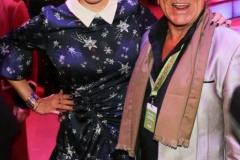 Verena Kerth  und Ali Khan, Premiere 1. Winterprogramm Circus Krone in München  2019