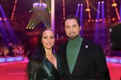 Jana Lacey-Krone und Martin Lacey Jr., Premiere 1. Winterprogramm Circus Krone in München  2019