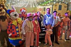 Die etwas andere Waschstraße im Circus Krone  2020