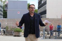 Josef Glasl,  Eröffnung der Außengastronomie im Werksviertel Mitte 2021