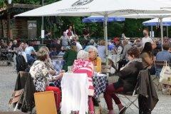 Hirschau, Eröffnung der Biergartensaison in München 2020