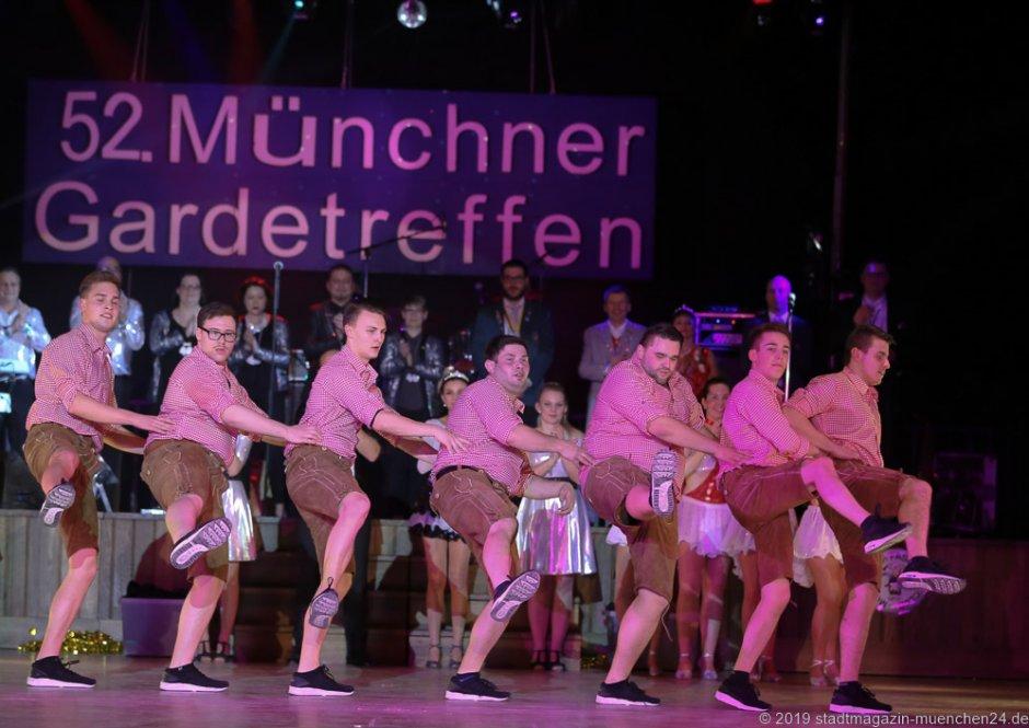 Feringa am 52. Gardetreffen am Nockherberg in München 2019
