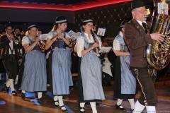 Truderinger Musikverein, Schäfflertanz am 52. Gardetreffen am Nockherberg in München 2019