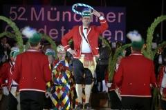 Christian Härtl, Schäfflertanz am 52. Gardetreffen am Nockherberg in München 2019