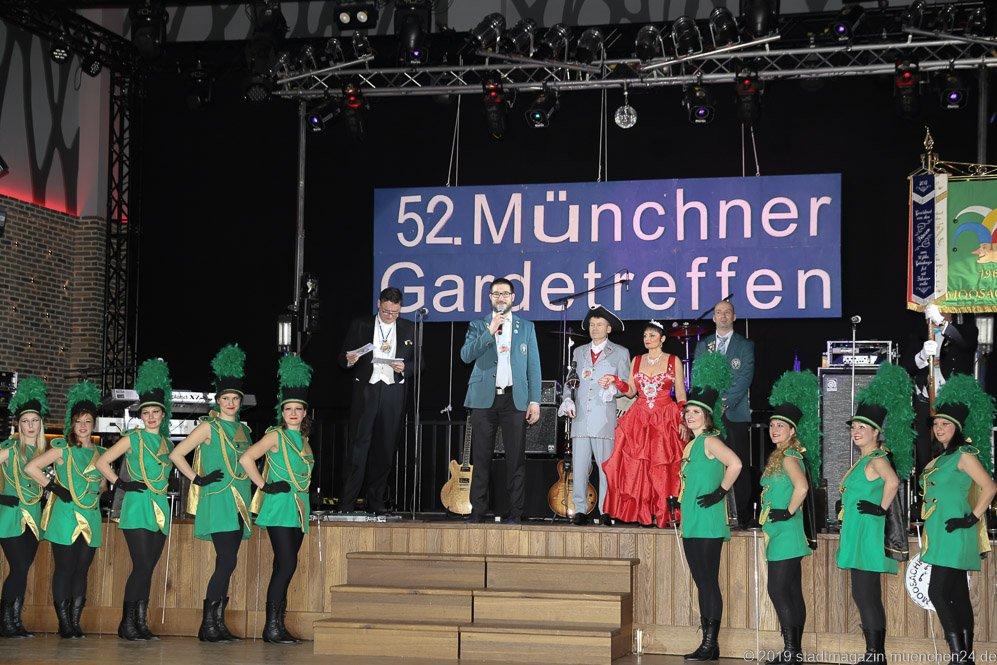 52.  Münchner Gardetreffen am Nockherberg in München 2019