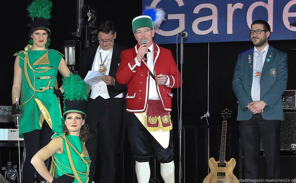 Alexander Reissl (Mitte), 52.  Münchner Gardetreffen am Nockherberg in München 2019