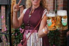 Sabine Barthelmeß, Herbstfest im Café Guglhupf in München  2021