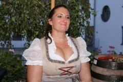 Prof. Dr. Irmi Eisenbarth, Herbstfest im Café Guglhupf in München  2021