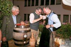 Luitpold Prinz von Bayern, Oliver Lentz, Dr. Marc Eisenbarth (von li. nach re.), Herbstfest im Café Guglhupf in München  2021