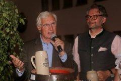 Luitpold Prinz von Bayern und Oliver Lentz (re.), Herbstfest im Café Guglhupf in München  2021