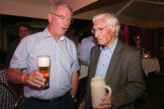 Alexander Reissl und Luitpold Prinz von Bayern (re.), Herbstfest im Café Guglhupf in München  2021