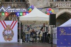 Spezlwirtschaft, Inthronisation der Narrhalla Prinzenpaare am Marienplatz in München 2020
