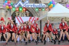 Kindergarde, Inthronisation der Narrhalla Prinzenpaare am Marienplatz in München 2020