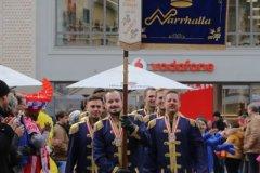 Inthronisation der Narrhalla Prinzenpaare am Marienplatz in München 2020