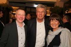 Christian Winkelhofer, DieterReiter, Petra Reiter (von li. nach re.), Jahresessen der Innenstadtwirte im Gasthaus zum Stifl in München 2019