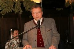 Wolfgang Sperger, Jahresessen der Innenstadtwirte im Gasthaus zum Stifl in München 2019