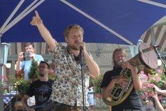 Stefan Dettl, La Brass Banda Biergartentour 2020 im Hofbräukeller in München