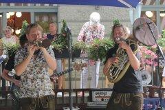 La Brass Banda Biergartentour 2020 im Hofbräukeller in München