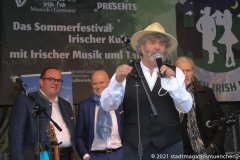 Paul Daly, Munich Irish Nights am Rindermarkt 2021