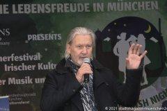 Johnny Logan, Munich Irish Nights am Rindermarkt 2021