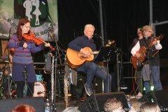 Dieter Reiter (Mitte) und die Paul Daly Band, Munich Irish Nights am Rindermarkt 2021
