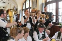 Schneider Bräuhaus, Die 4 jungen Hinterberger Musikanten, Munich Unplugged bei den Innstadtwirten in München 2019