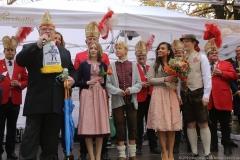 Narrhalla Proklamation am Viktualienmarkt in München 2019