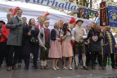 Narrhalla Proklamation am Viktualienmarkt in München 2019