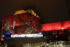 Gasteig, Orange the World , Internationaler Tag gegen Gewalt an Frauen in München 2020