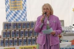 Yvonne Heckl, Presserundgang Frühlingsfest auf der Theresienwiese in München 2019
