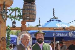 Dr. Michael Möller und Manfred Zehle jun. (re.), Presserundgang Frühlingsfest auf der Theresienwiese in München 2019