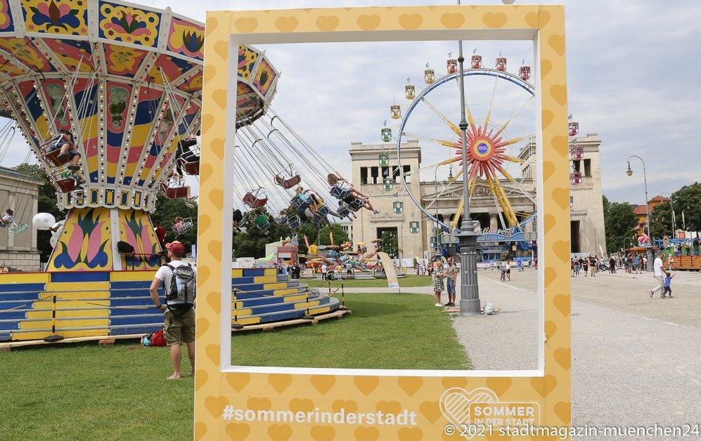 Sommer in der Stadt, Königsplatz 2021